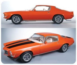 Model Plastikowy Do Sklejania AMT (USA) - 1970 1/2 Camaro Z28