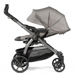 BOOK Peg Perego wózek spacerowy CITY GREY