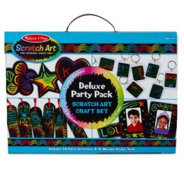 MELISSA Wydrapywanka Scratch Art Deluxe Party Pack 42045